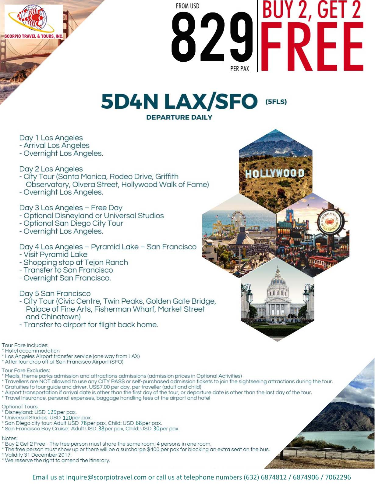 PROMO Los Angeles - San Francisco
