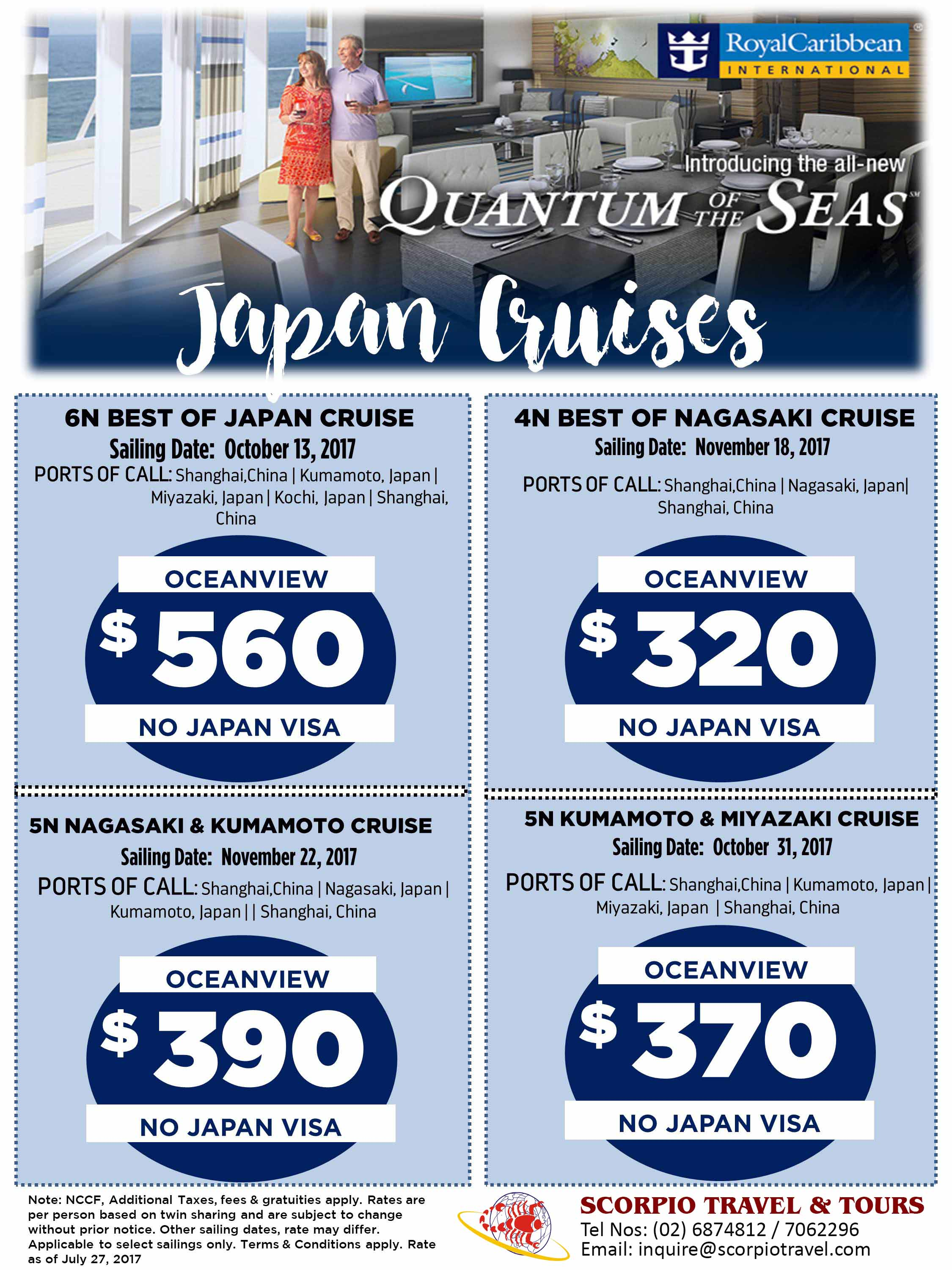 Royal Caribbean Japan Cruise