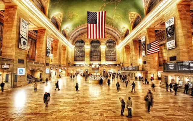 USA New York Grand Central Station